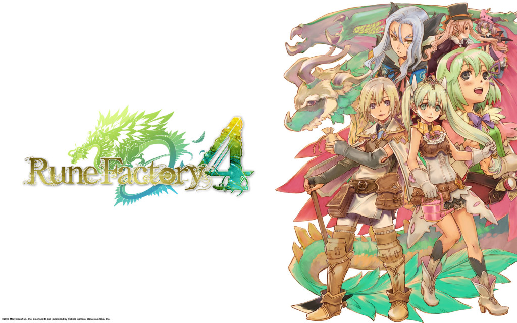 Rune Factory 4 key art