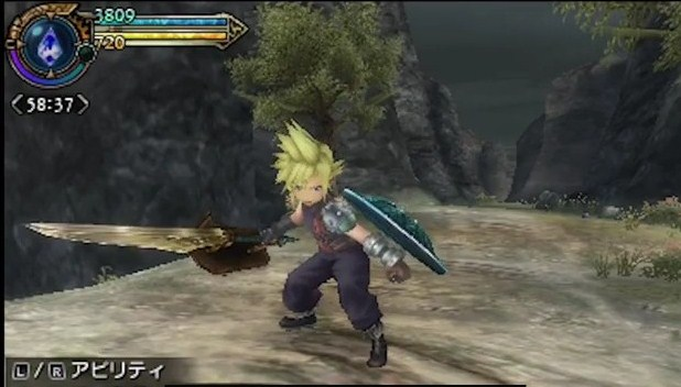 Final Fantasy Explorers Cloud costume