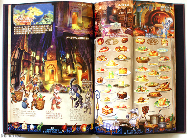 Odin Sphere Leifthrasir preorder art book food