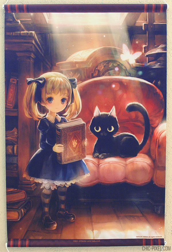 Odin Sphere Leiftrasir Famitsu DX Alice wall scroll