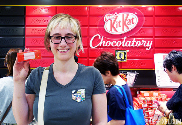 Kit Kat Chocolatory Tokyo Chic Pixel