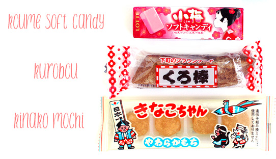 OyatsuBox March 2016 Japanese snack subscription review candies