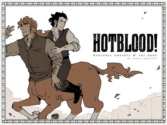 Hotblood centaur webcomic Kickstarter