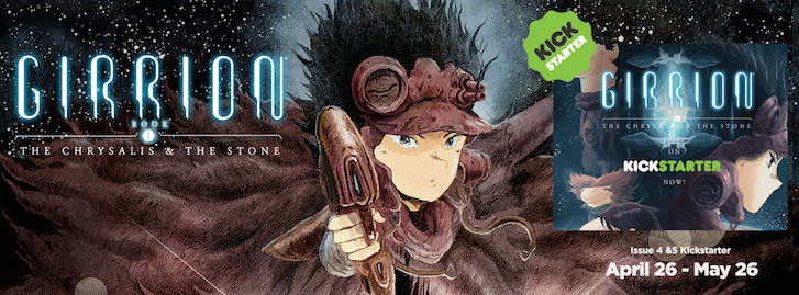 Girrion Comic Kickstarter