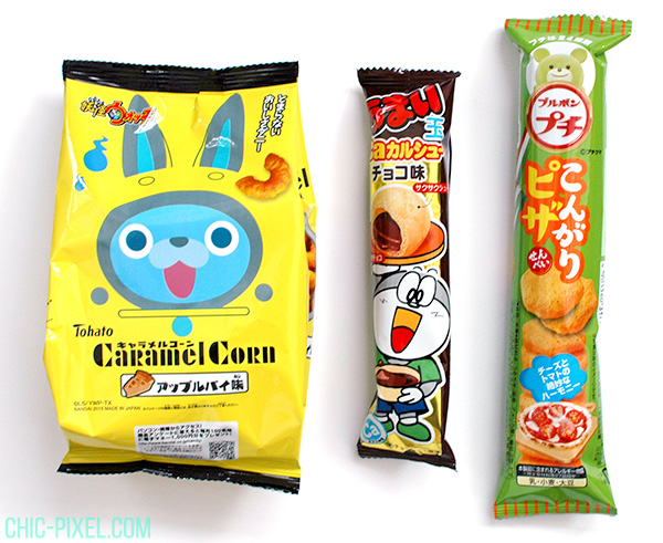 OyatsuBox April 2016 snacks 2