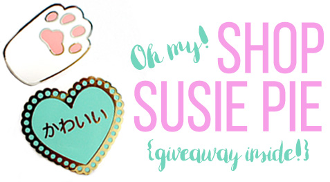 Shop Susie Pie feature, giveaway, and coupon code