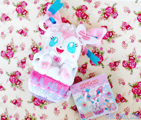 Swooning Over PokeNeko Dolce Sylveon