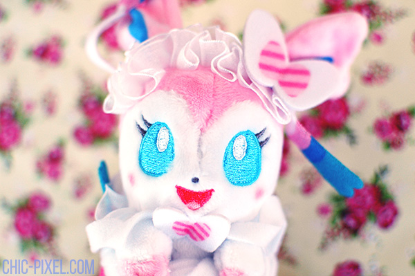 Swooning Over PokeNeko Dolce Sylveon closeup