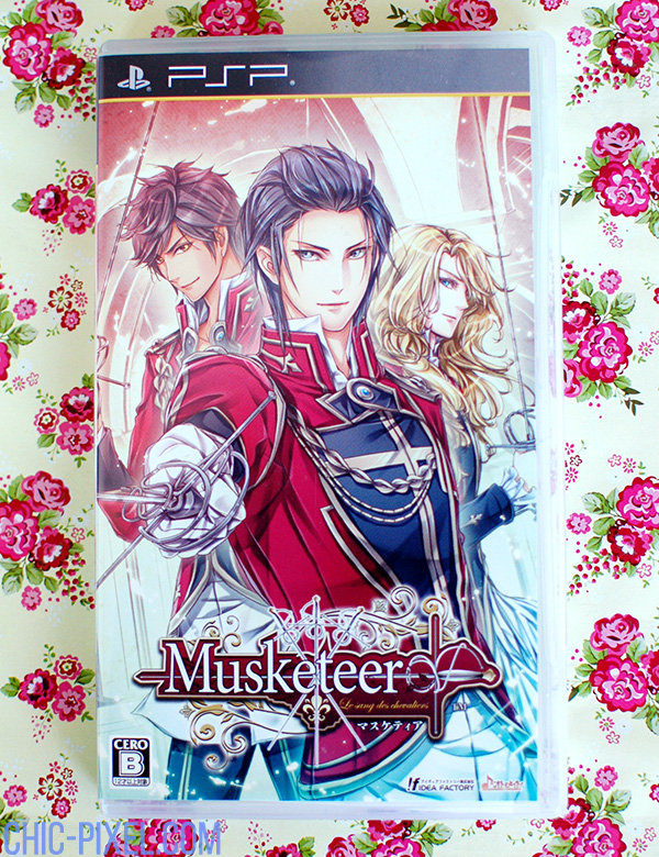 Swooning Over Musketeer otome game