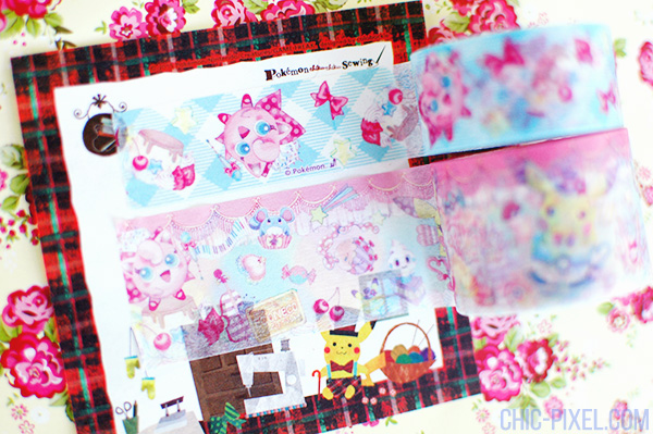 Swooning Over PokeNeko Dolce masking tape