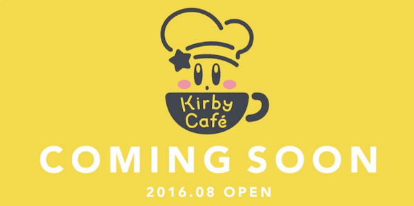 Kirby Cafe Japan Coming Soon