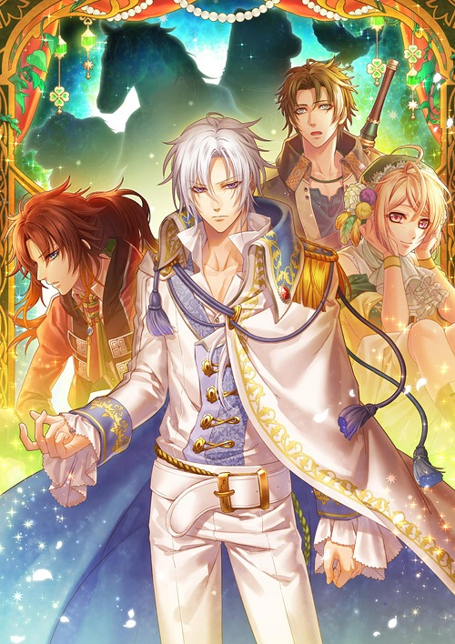 Mojyutachi to Ohimesama otome game Preorder