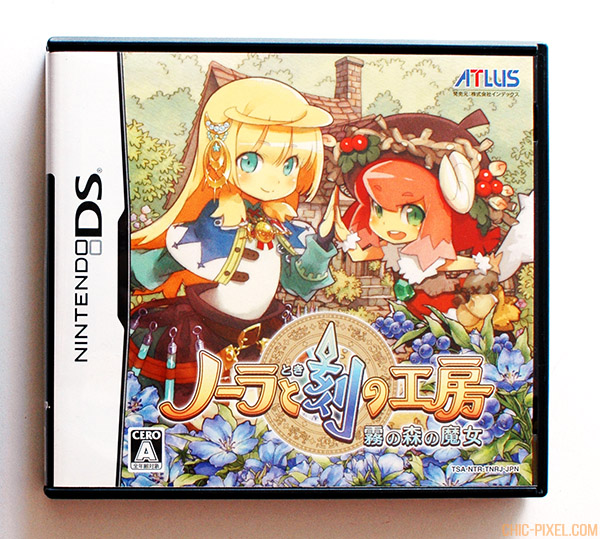 Nora and the Time Studio DS game cover