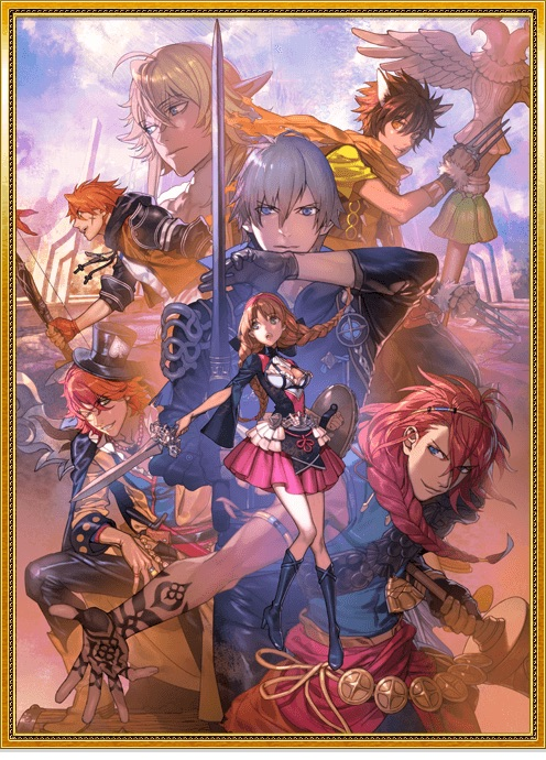 Otome Hero Level 5 key art