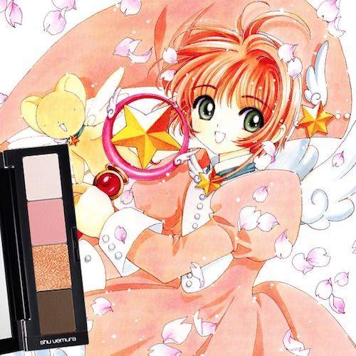 Cardcaptor Sakura Shu Uemura eyeshadow palette 1