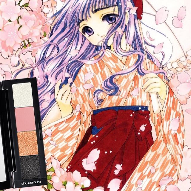 Cardcaptor Sakura Shu Uemura eyeshadow palette 10