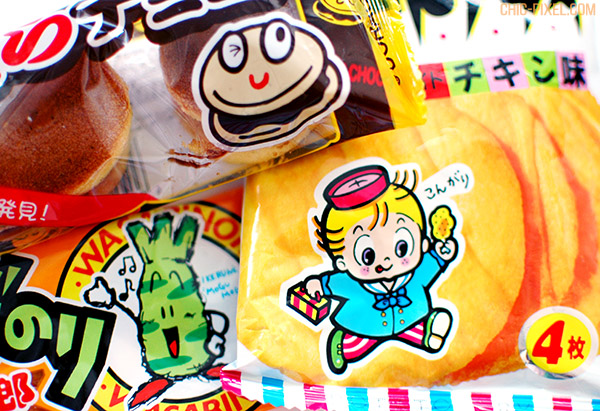 OyatsuBox July 2016 Dagashi Edition snacks 7