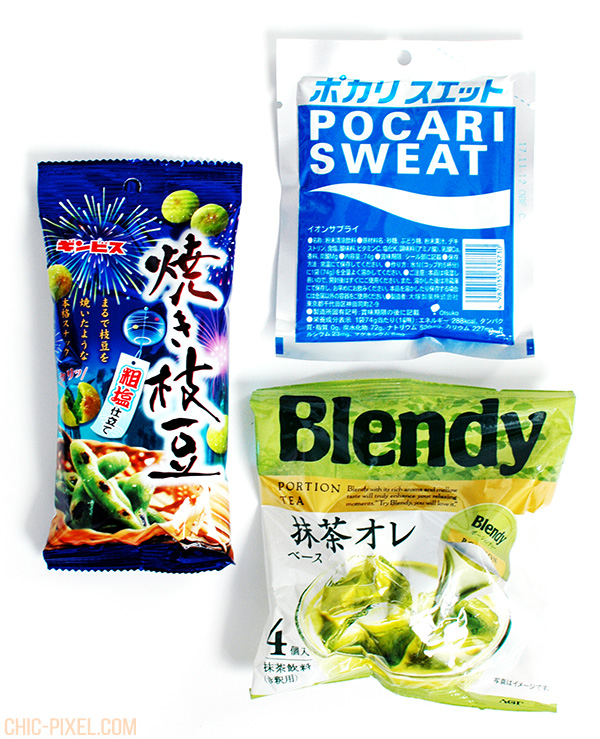 OyatsuBox August 2016 Review Blendy Pocari Sweat