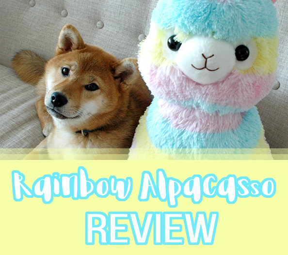 Rainbow Alpacasso Amuse plush review