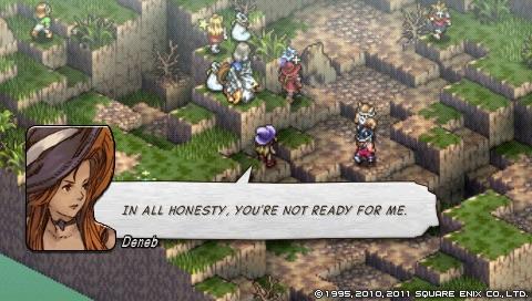 Tactics Ogre screenshot
