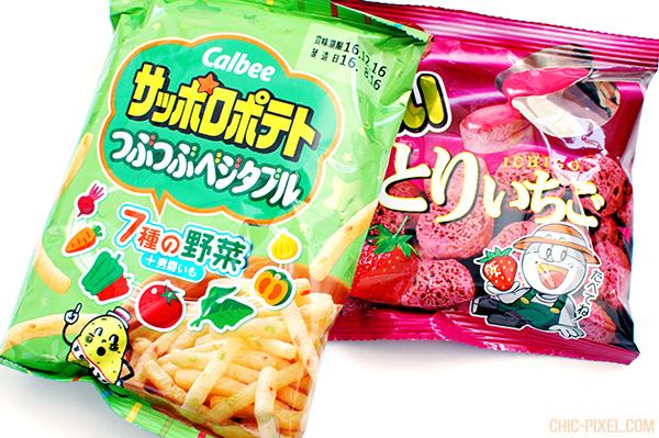 Oyatsubox Japanese snack subscription box September 2016 review Calbee and Umaibo