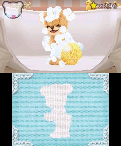 Teddy Together bath screenshot