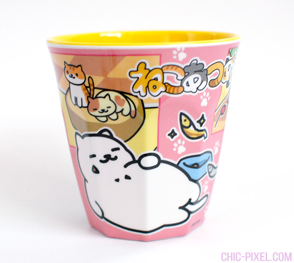 Yume Twins kawaii subscription box review Neko Atsume cup