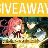 Gahkthun of the Golden Lightning Giveaway