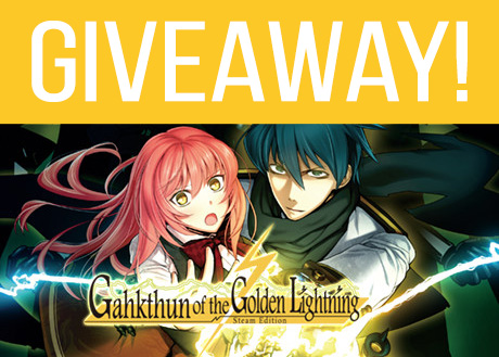 Gahkthun of the Golden Lightning Giveaway