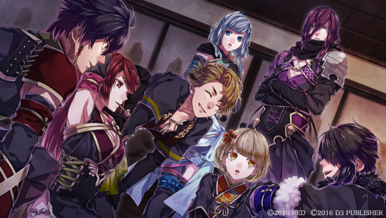 Nightshade otome game D3 Publisher Steam