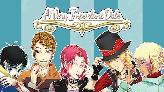A Very Important Date otome game