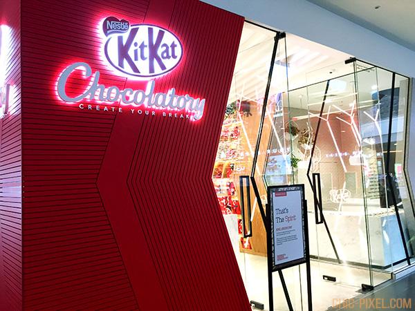 Kit Kat Chocolatory Melbourne Exteriror