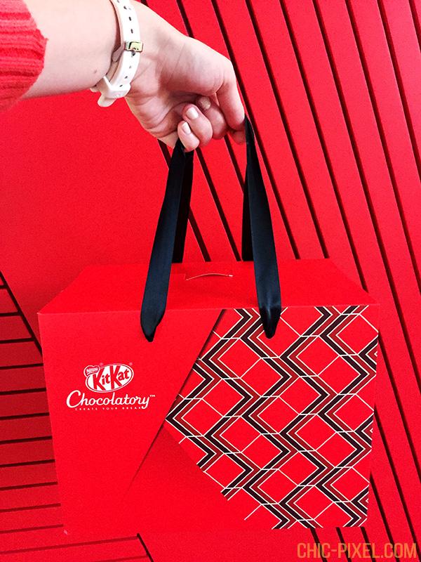 Kit Kat Chocolatory Melbourne gift box