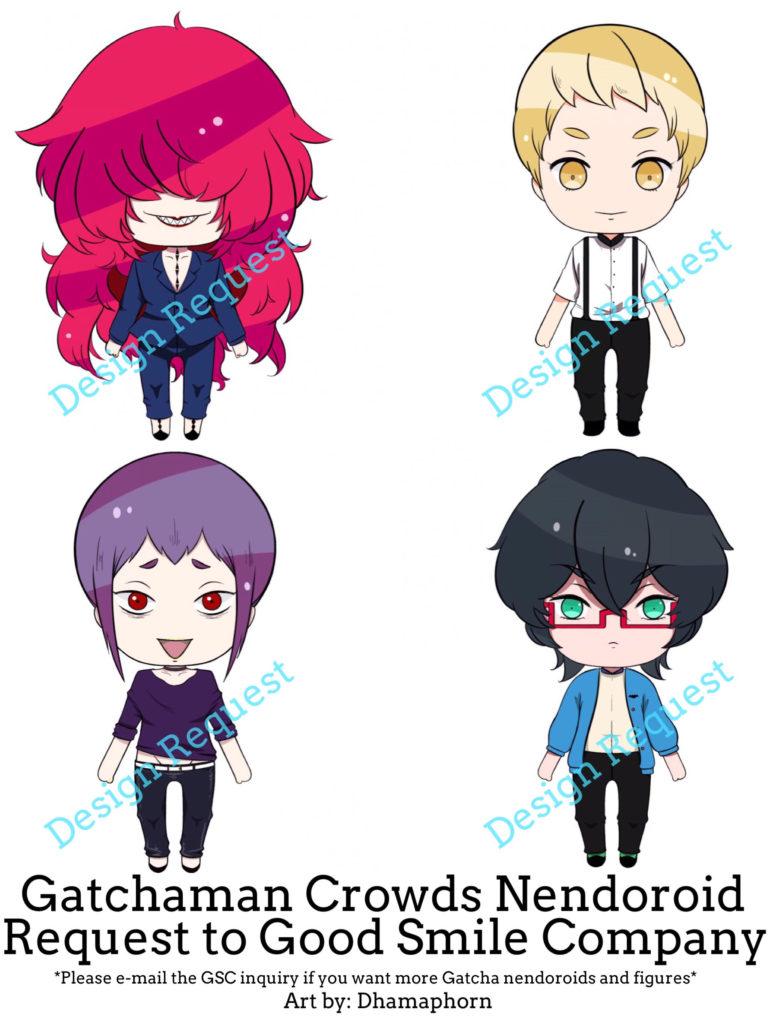 Gatchman Crowds Nendoroid Fan Flier