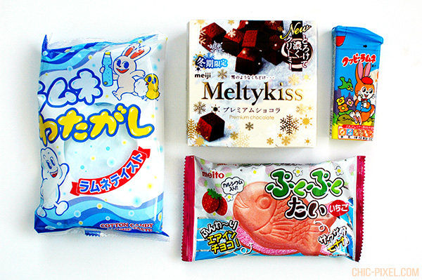 OyatsuBox December 2016 snacks 2