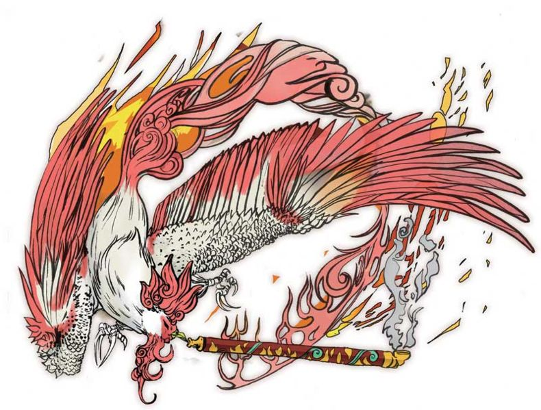 Rooster God Okami
