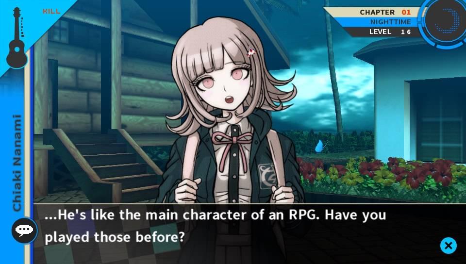 Chiaki Dangaronpa screenshot