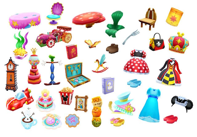 Disney Magical World 2 items