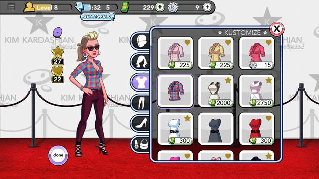 Kim Kardashian Hollywood clothes