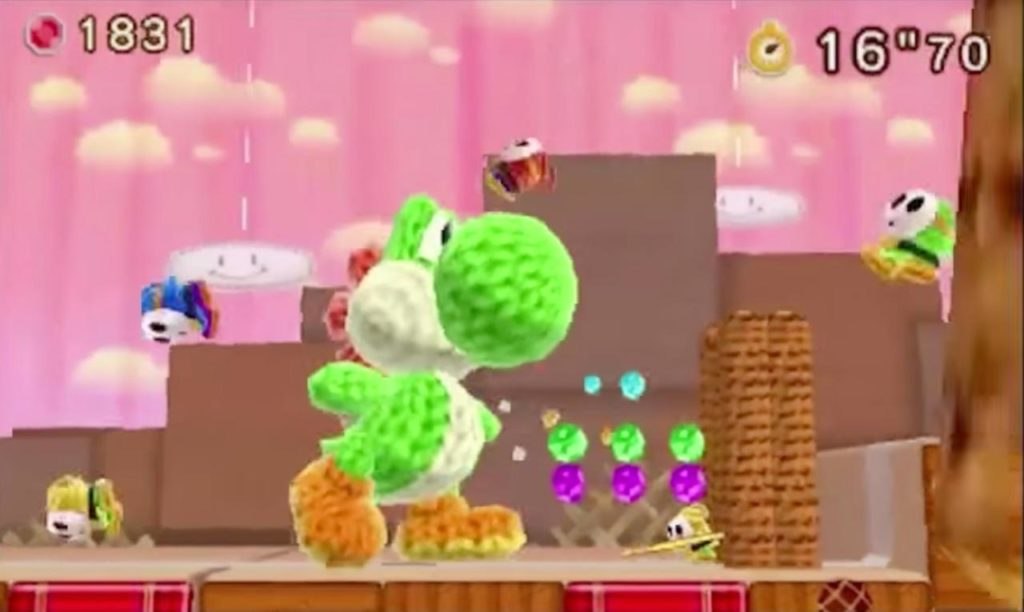 Poochy and Yoshi's Woolly World screenshot