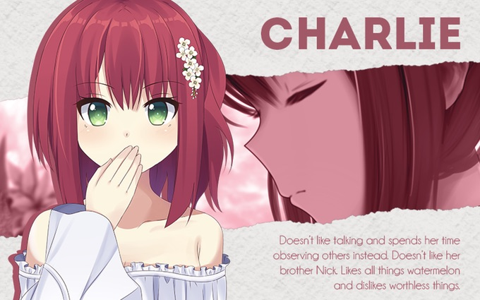 Charlie Silent Voices otome game