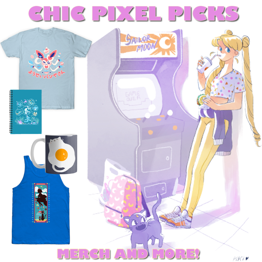 Chic Pixels Picks banner purple