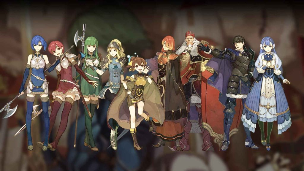 Fire Emblem Echoes characters