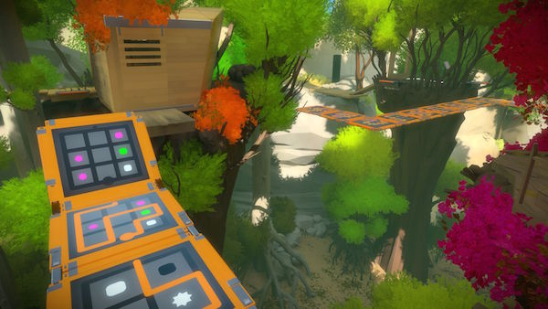 The Witness puzzle game screenshot