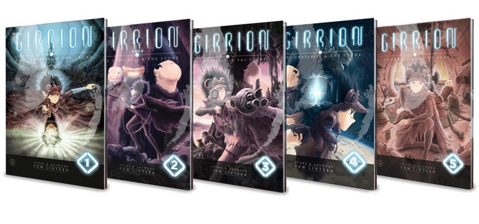 Girrion issues Kickstarter