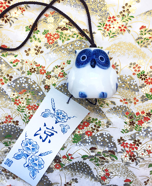 Neko Box Japanese Subscription Box owl wind chime