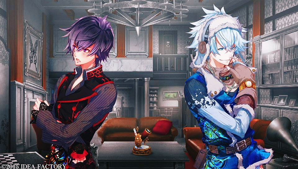 Psychedelica of the Black Butterfly screenshot PS Vita otome game
