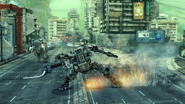 Hawken PS4 screenshot Chic Pixel mech games