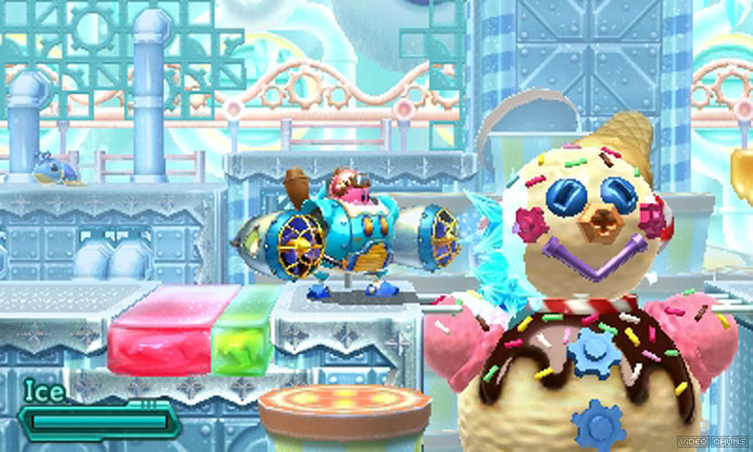 Kirby Planet Robobot screenshot Chic Pixel mech games