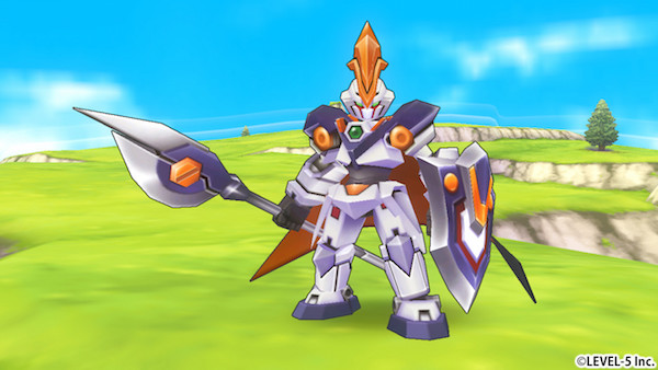 LBX Little Battlers eXperience screenshot Chic Pixel mech games